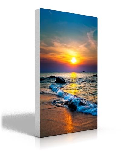 image wrap or solid sides ez canvas