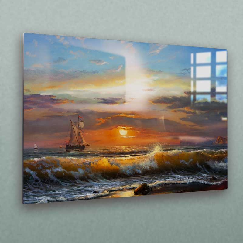 Your art or photography will achieve a timeless illuminated look only possible with what a metal print can provide.